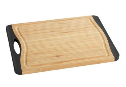 Wenko Anti-Slip Bamboo Cutting Board 33 x 23 cm